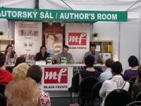 Vlámský spisovatel Dimitri Verhulst na Světu knihy